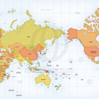 Vector map world relief mercator asia australia one stop map this map is part of these discounted map bundles gumiabroncs Images