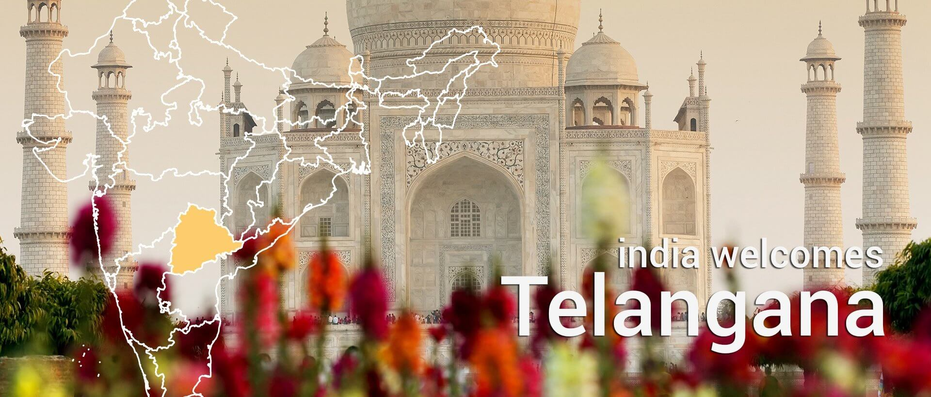 Telangana new state in India