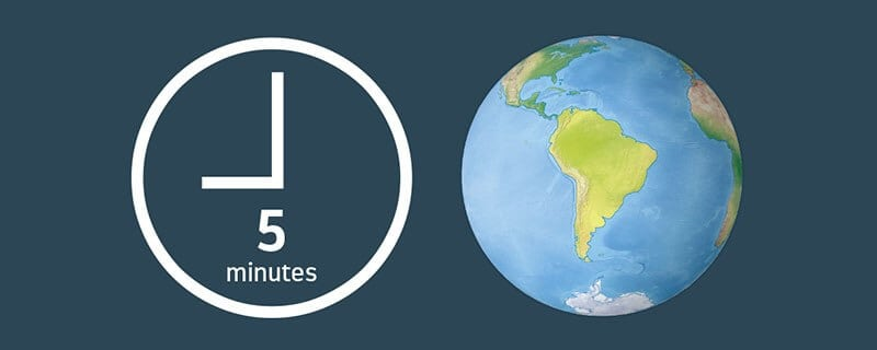 Featured image for Infographic - A perfect globe for your design in just 5 minutes