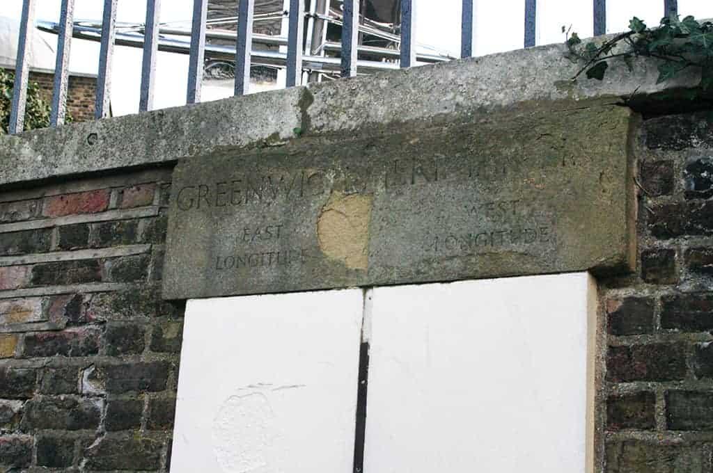 Greenwich meridian