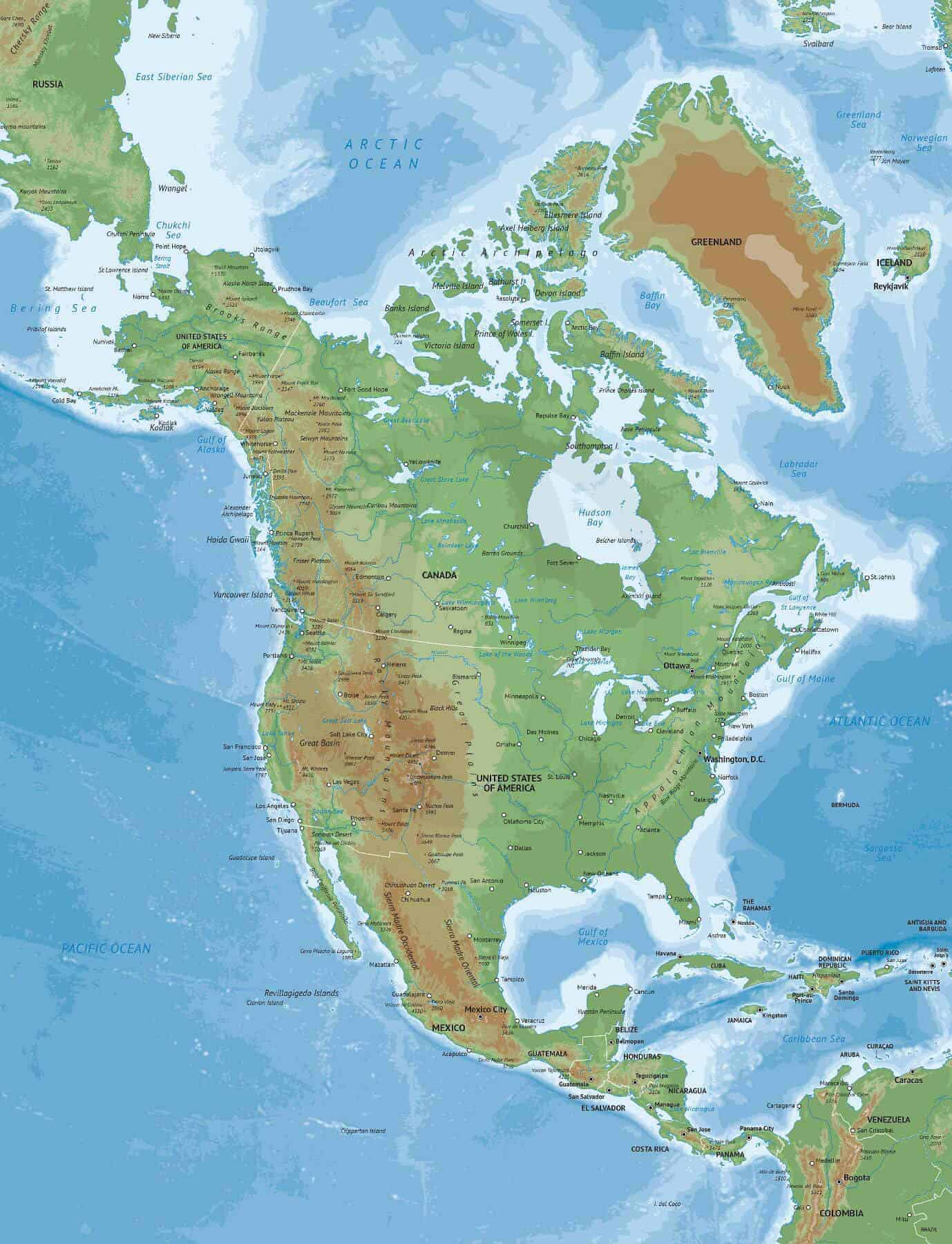 Map of North America Naturalist style A Map Of The North American Continent on map of the north east region, map of the continent of australia, map of north american countries, map of the north american union, map of the north polar region, map of the north american prairie, drawing of the north american continent, america continent, north and south american continent, map of the north island of new zealand, map of south american continent, map of the north eastern united states, map of southern continent, map of eurasian continent, map of the north america, map of the north africa, map of the african continent, map of european continent, map of the north european plain,